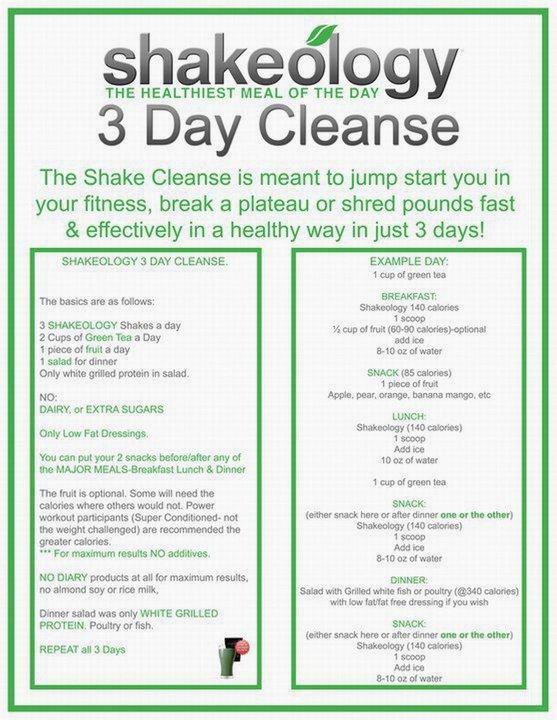 Shakeology Cleanse with FREE Shakeology